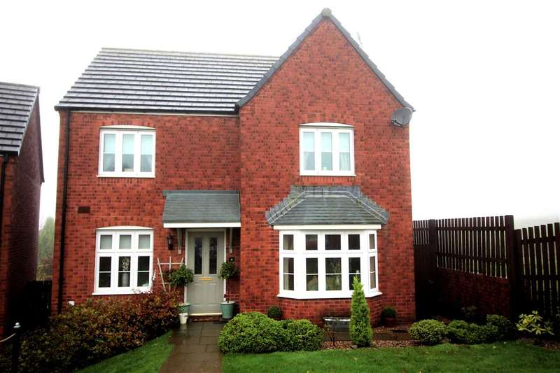 4 Bedrooms Detached House for sale in Llewellyns View, Porth