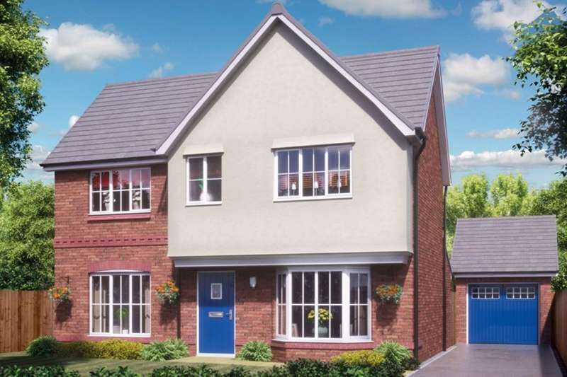 4 Bedrooms Detached House for sale in Silkin Park Hinkshay Road, Dawley, Telford, TF4