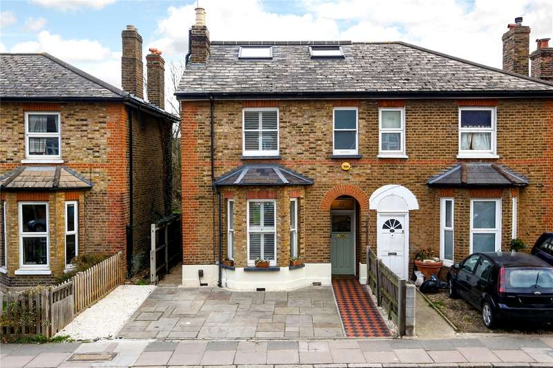 5 Bedrooms Semi Detached House for sale in Manor Road, Richmond, TW9