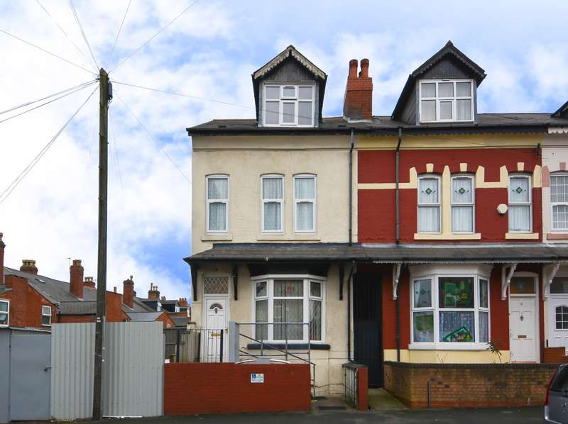 4 Bedrooms End Of Terrace House for sale in Algernon Road, Edgbaston, B16