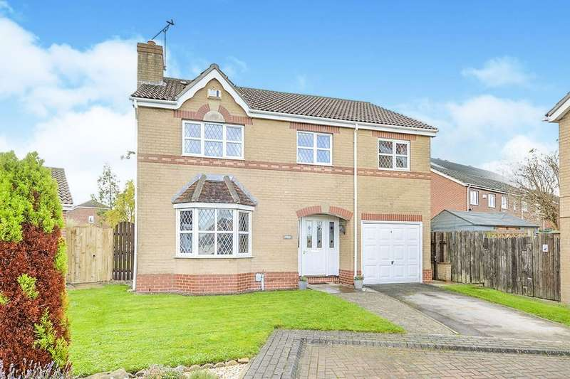 4 Bedrooms Detached House for sale in Bridge Close, Victoria Dock, Hull, HU9