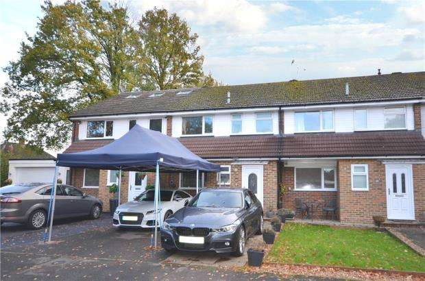 3 Bedrooms Terraced House for sale in Bailey Close, Frimley, Camberley