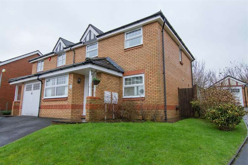 3 Bedrooms Semi Detached House for sale in Maes Yr Orchis, Morganstown, Radyr, Cardiff