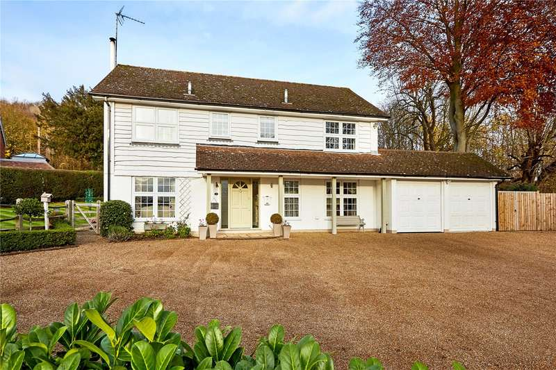 4 Bedrooms Detached House for sale in Farthingfield, Old London Road, Wrotham, Sevenoaks, TN15