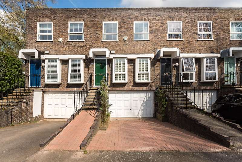 4 Bedrooms Terraced House for sale in Shaftesbury Way, Strawberry Hill, TW2