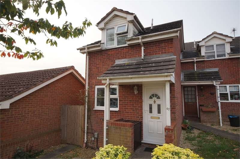 1 Bedroom End Of Terrace House for sale in Colmworth Close, Lower Earley, READING, Berkshire