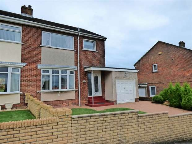 3 Bedrooms Semi Detached House for sale in Crowgarth Close, Cleator Moor, Cumbria