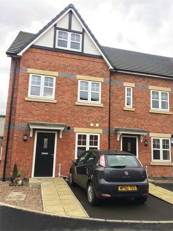 4 Bedrooms Semi Detached House for sale in Hatton Mews, Spondon, Derby