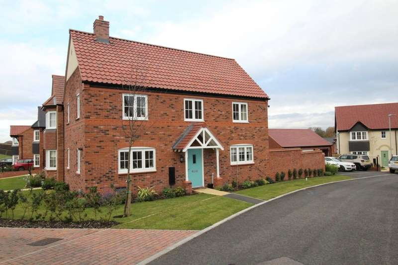 4 Bedrooms Detached House for sale in Loachbrook Farm Way, Congleton, CW12