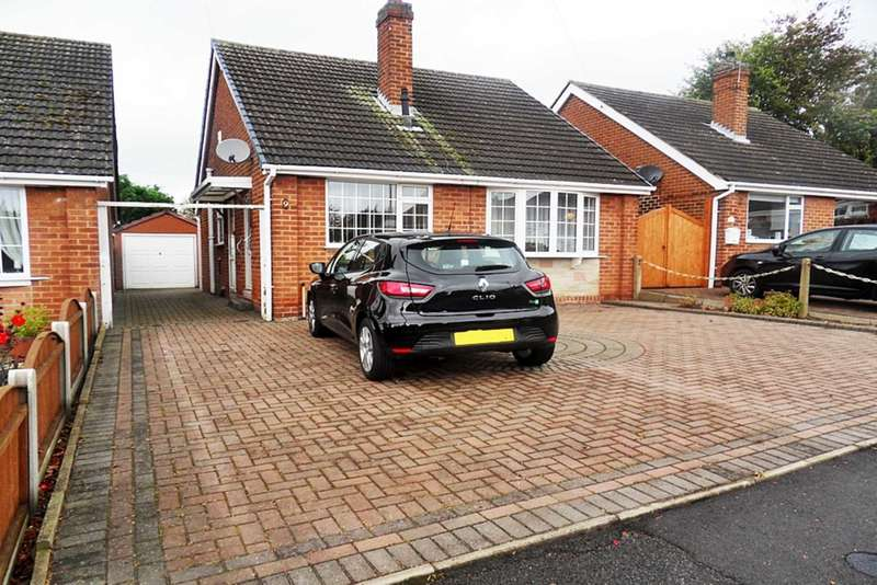 2 Bedrooms Detached Bungalow for sale in Carisbrooke Gardens, Littleover