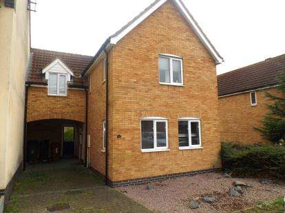 3 Bedrooms Semi Detached House for sale in St. Katherines Mews, Hampton Hargate, Peterborough, Cambridgeshire