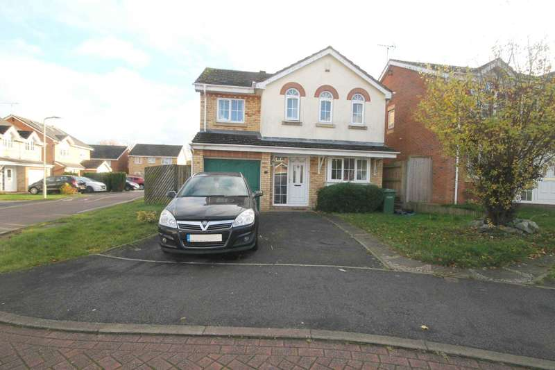 4 Bedrooms Detached House for sale in Boulton Court, Oadby LE2 4XA