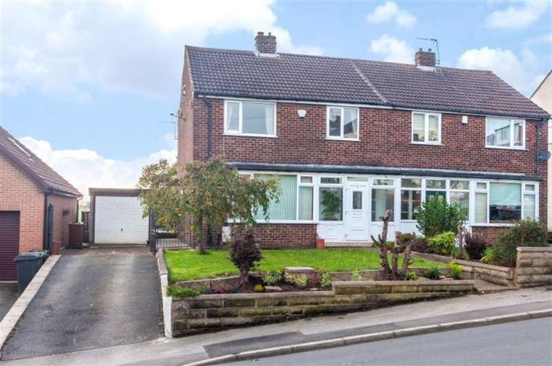 3 Bedrooms Semi Detached House for sale in New Occupation Lane, Pudsey, LS28 8HR