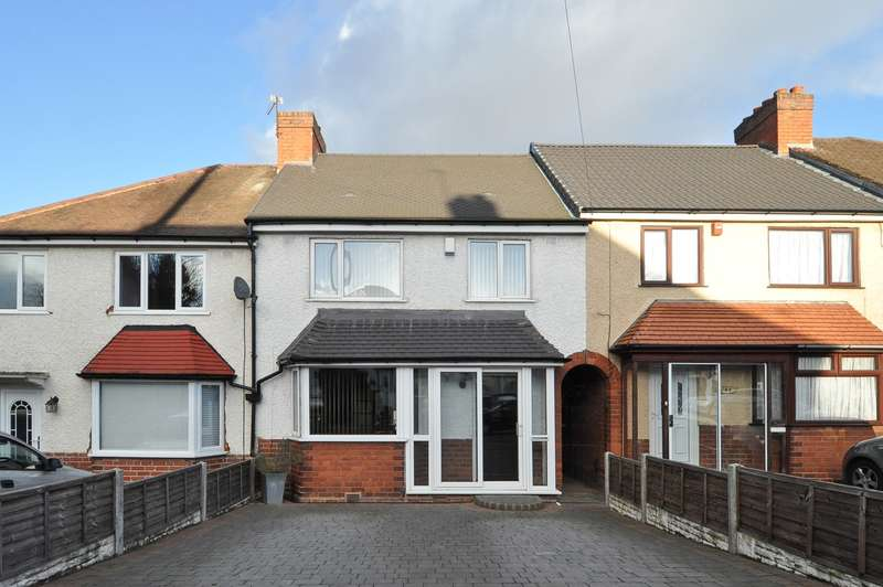 3 Bedrooms Terraced House for sale in Dell Road, Cotteridge, Birmingham, B30