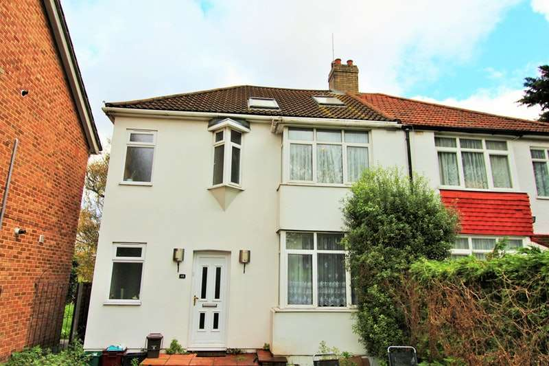 4 Bedrooms Semi Detached House for sale in Harvel Crescent, Abbey Wood, London, SE2