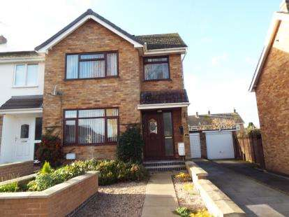 3 Bedrooms Semi Detached House for sale in Shenton Close, Stoke Golding, Nuneaton, Warwickshire