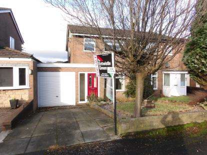 3 Bedrooms Semi Detached House for sale in Westbank Road, Lostock, Bolton, Greater Manchester, BL6