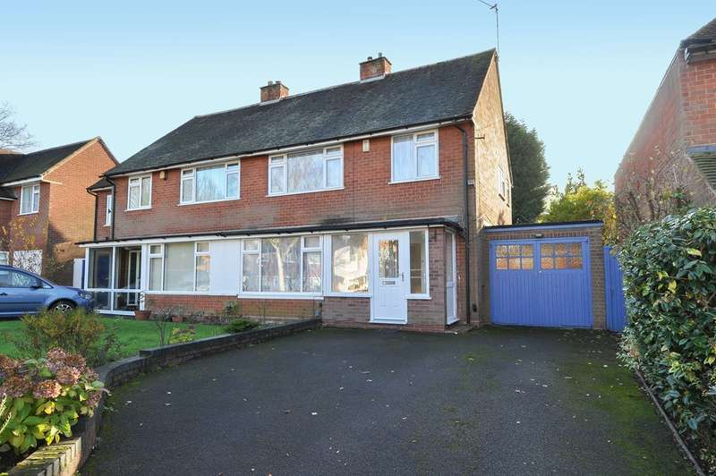 3 Bedrooms Semi Detached House for sale in Swarthmore Road, Bournville Village Trust, Selly Oak, B29