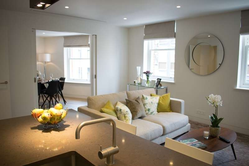 2 Bedrooms Apartment Flat for rent in Serviced Apartments Marylebone Lane W1U 2PQ