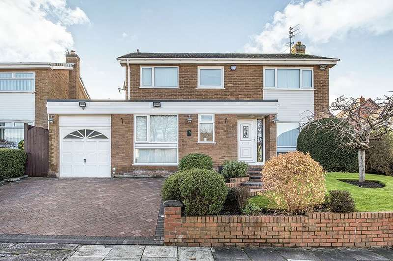 4 Bedrooms Detached House for sale in Glenville Close, Liverpool, L25