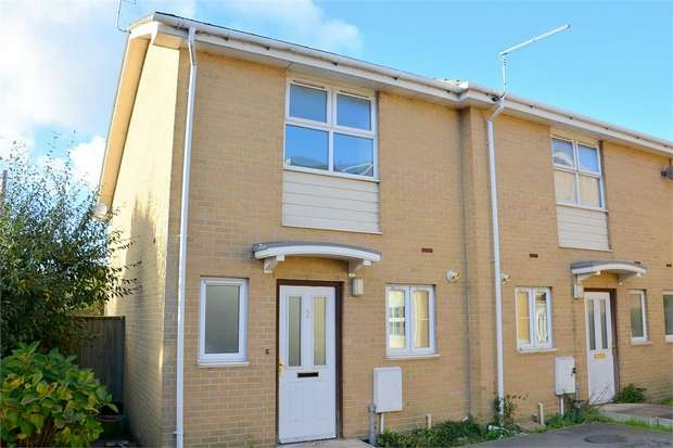 2 Bedrooms End Of Terrace House for sale in Melgate Close, Bournemouth, Dorset