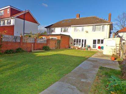4 Bedrooms Semi Detached House for sale in Chaplin Road, Harrow, Wembley