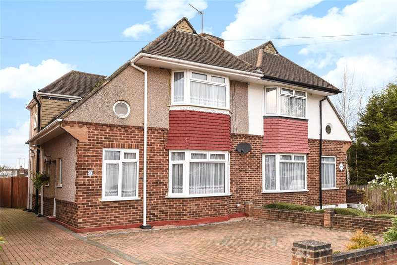 3 Bedrooms Semi Detached House for sale in Kenilworth Road, Edgware, Middlesex, HA8