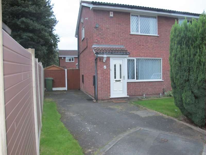 2 Bedrooms Semi Detached House for sale in Tenby Close, Callands, Warrington, WA5 9SG