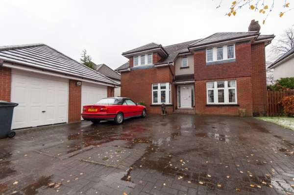 4 Bedrooms Detached House for sale in Thornhill Gardens, Glasgow