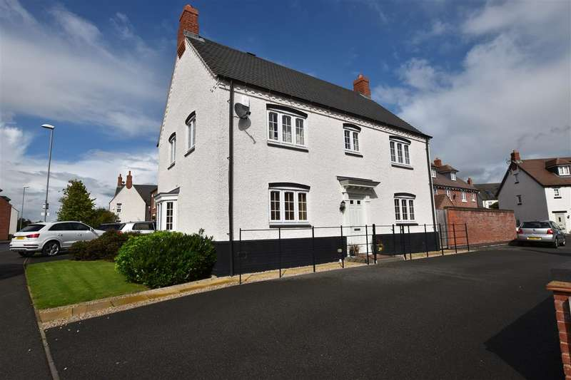 4 Bedrooms Detached House for sale in Willow Road, Barrow Upon Soar