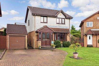 3 Bedrooms Detached House for sale in Glen Affric Place, Kilmarnock