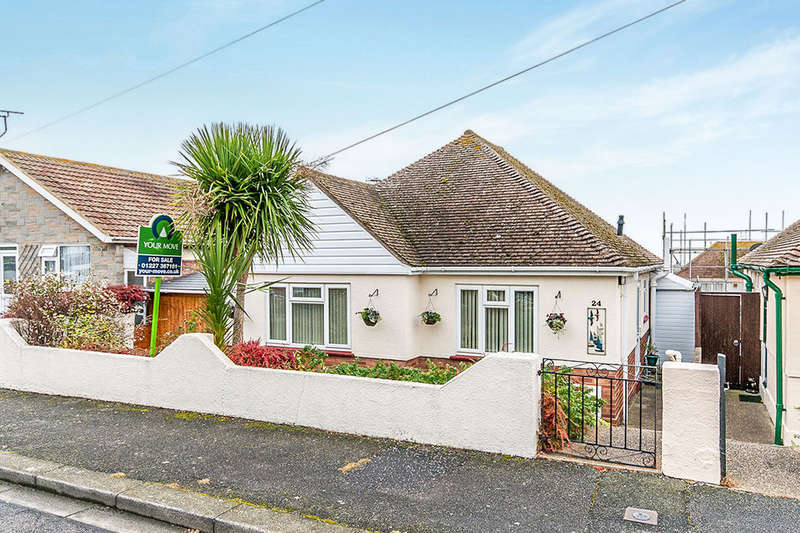 2 Bedrooms Detached Bungalow for sale in Harcourt Drive, Herne Bay, CT6