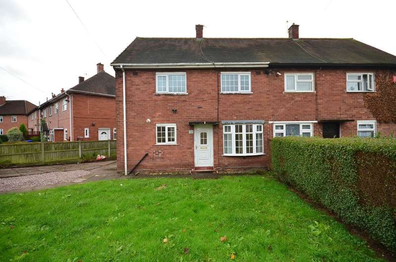 3 Bedrooms Semi Detached House for rent in Wellfield Road, Bentilee, ST2 0DB