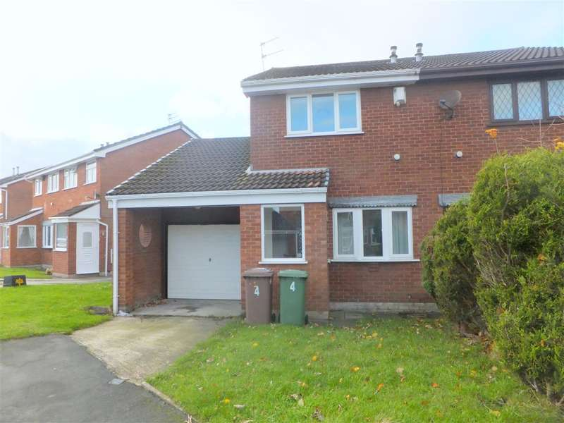 2 Bedrooms Semi Detached House for sale in Orwell Close, St Helens