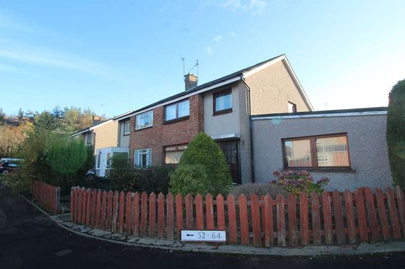 4 Bedrooms Semi Detached House for sale in Baberton Mains Drive, Edinburgh, EH14