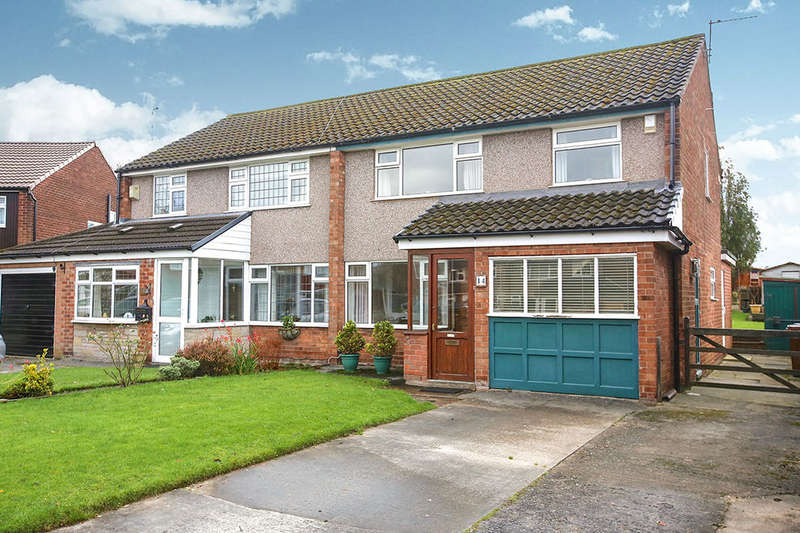 3 Bedrooms Semi Detached House for sale in Hatchmere Close, Cheadle Hulme, Cheadle, SK8