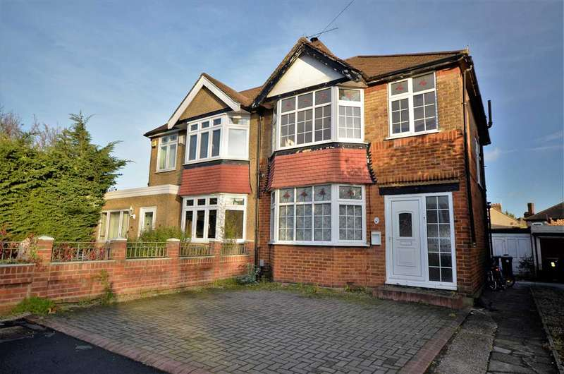 3 Bedrooms Semi Detached House for sale in Lawn Close, Edmonton, N9