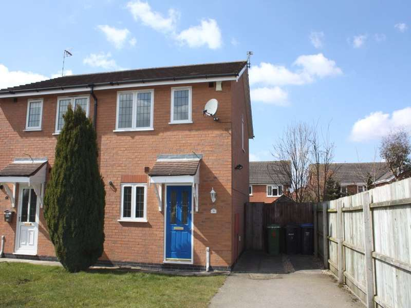 2 Bedrooms Semi Detached House for rent in Muncaster Close, Broughton Astley, LEICESTER