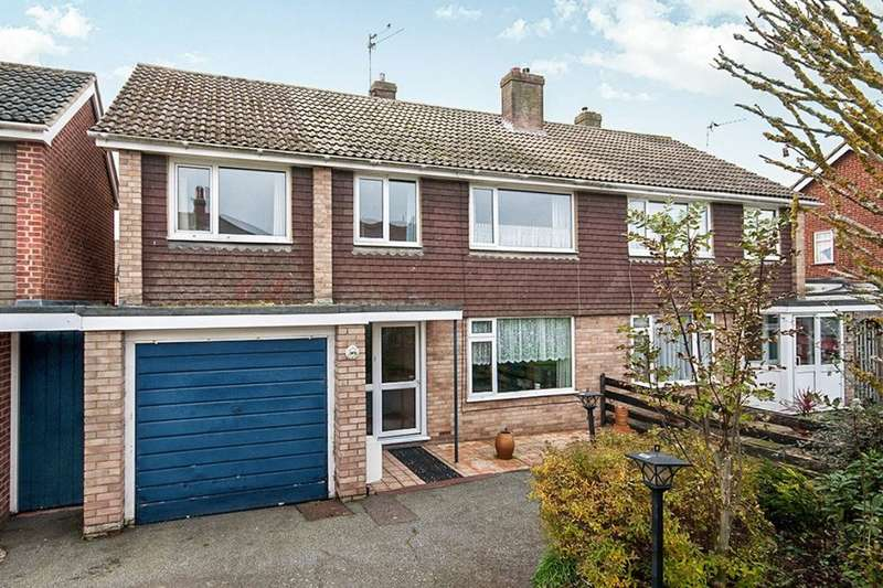 5 Bedrooms Semi Detached House for sale in Brook Street, Polegate, BN26