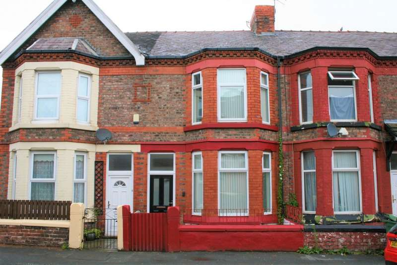 4 Bedrooms Terraced House for sale in Grange Road West, Birkenhead, CH43