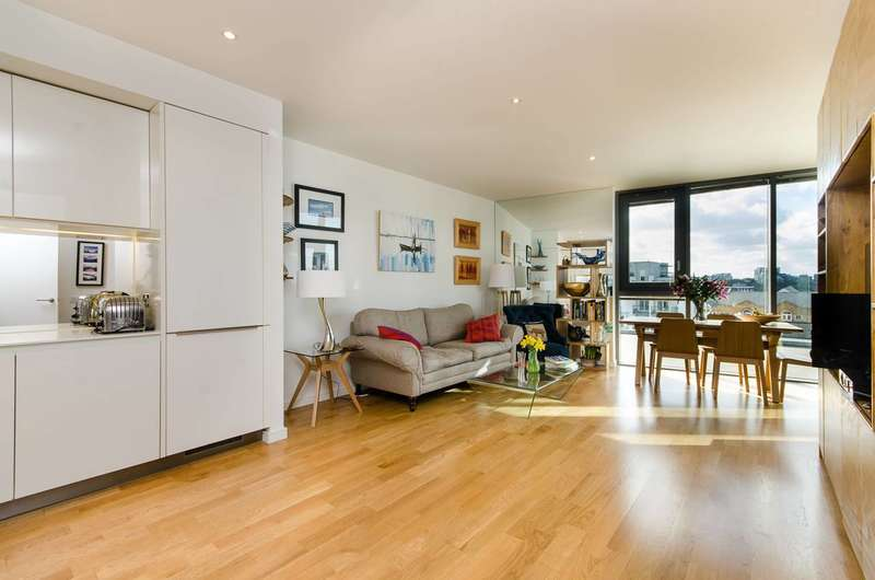 2 Bedrooms Flat for sale in Eastfields Avenue, Wandsworth, SW18