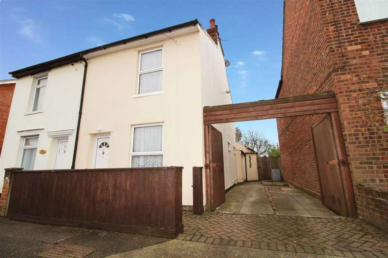 2 Bedrooms Semi Detached House for sale in Deben Road, Ipswich