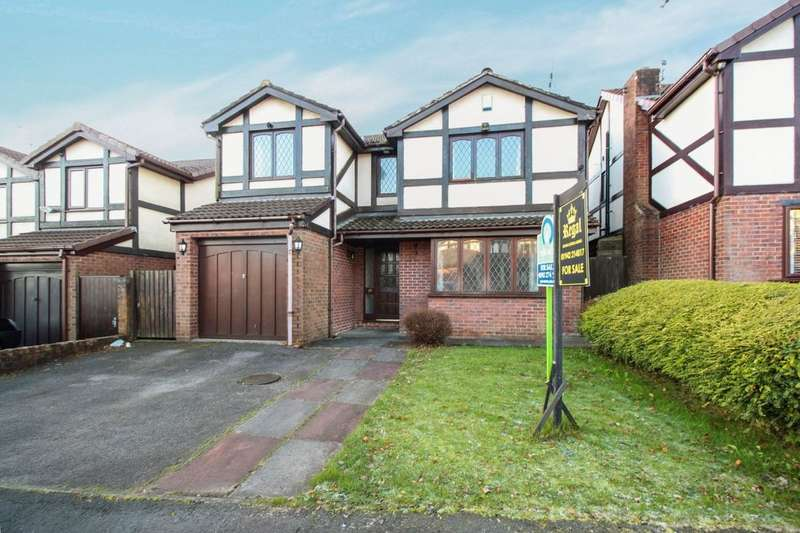 4 Bedrooms Detached House for sale in Satinwood Close, Ashton-In-Makerfield, Wigan, WN4