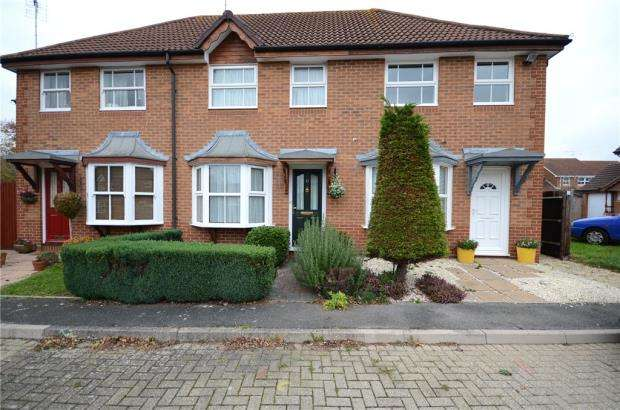 2 Bedrooms Terraced House for sale in Blanchard Close, Woodley, Reading