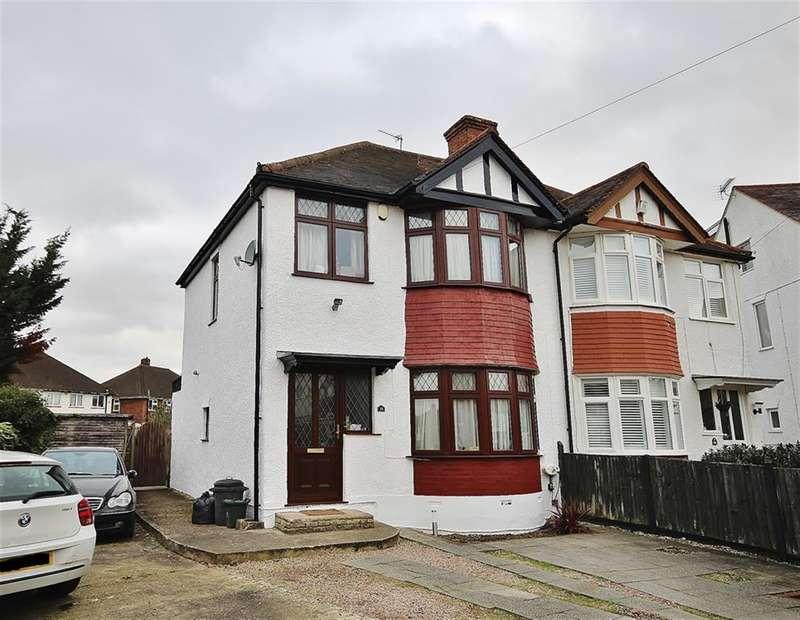 3 Bedrooms Semi Detached House for sale in Sedgwick Avenue, Hillingdon, Uxbridge, UB10