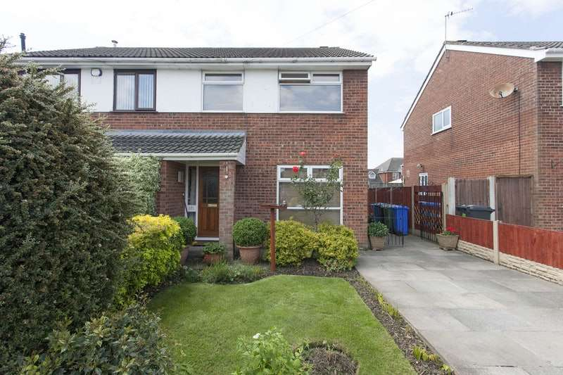 3 Bedrooms Semi Detached House for sale in Cowan Way, Widnes, Cheshire, WA8