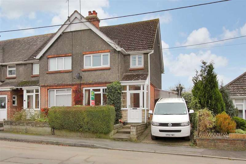 2 Bedrooms End Of Terrace House for sale in Simonds Road, Ludgershall