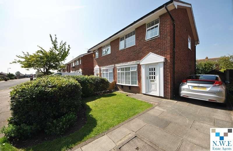 3 Bedrooms Semi Detached House for rent in Ganton Close, Southport, Merseyside. PR8 6JN