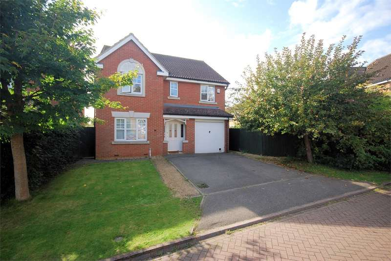 4 Bedrooms Detached House for sale in Faithfull Close, Stone, Aylesbury, HP17