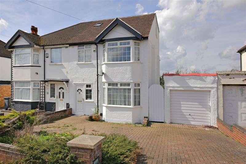 4 Bedrooms Semi Detached House for sale in WARWICK AVENUE, EDGWARE
